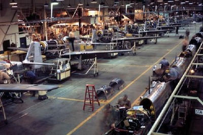 P-51D production Inglewood, CA