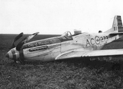 RCAF 9273 accident