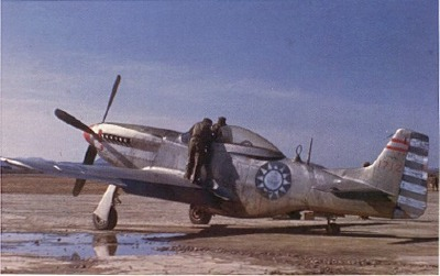 Chinese Nationalist P-51D in color