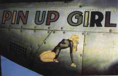 PIN UP GIRL  noseart